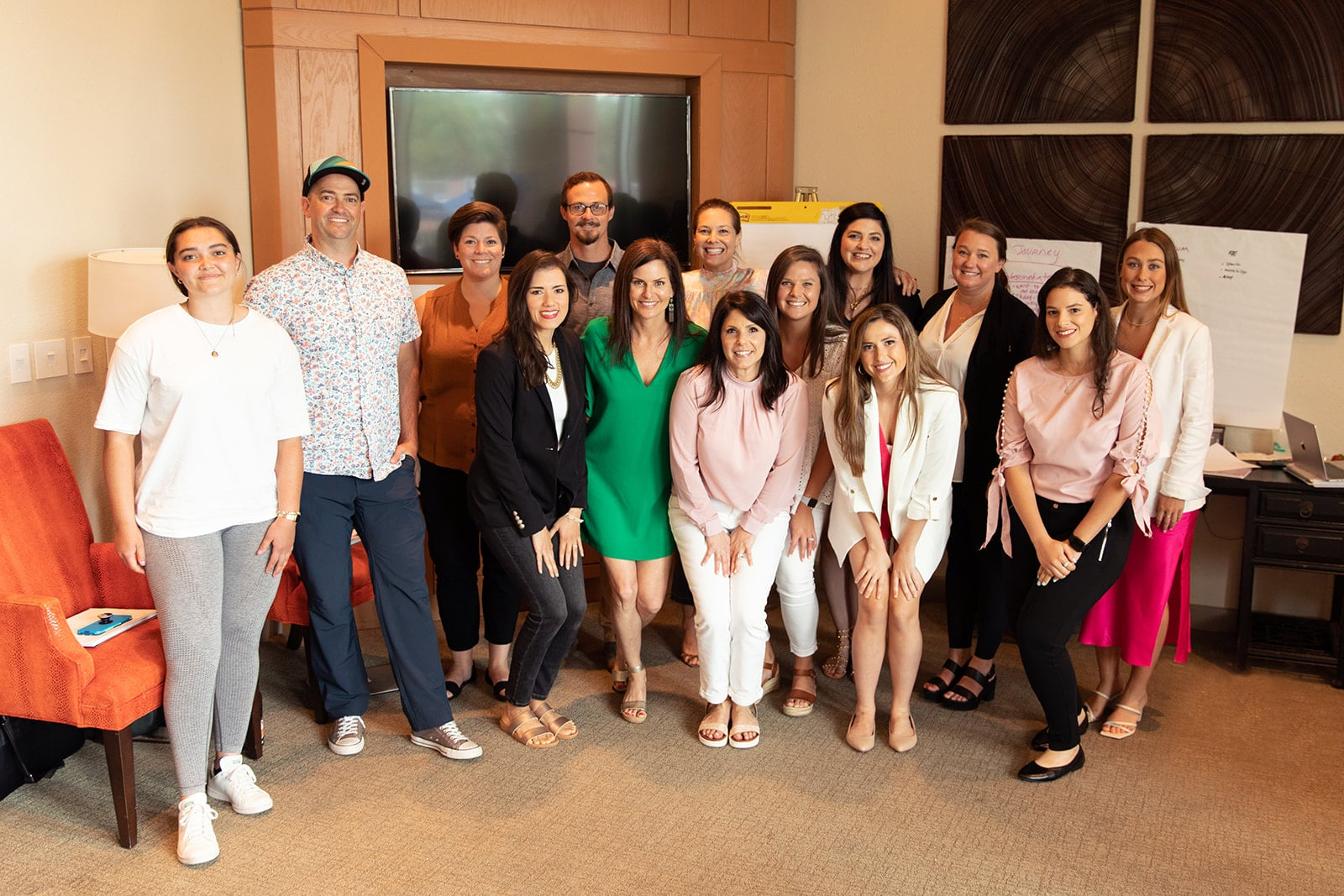 Group photo of the Galveston Diet marketing and operations team.