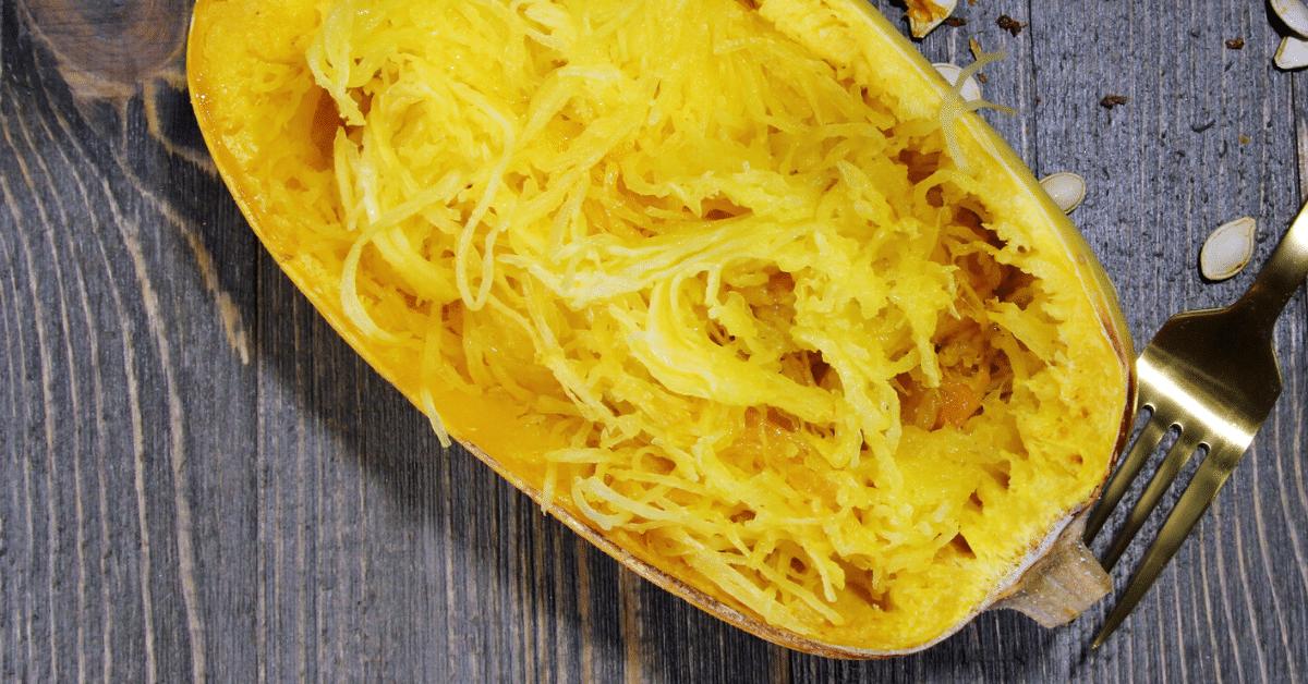 Spaghetti-squash-scallop-garlic-sauteed